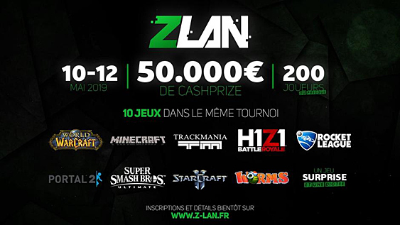 ZLAN 2019 à Arles tournoi de LAN party