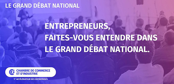 Participez au Grand Debat National avec les CCI